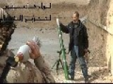 FSA Terrorists Shooting Mortars At Civilian Buildings!!