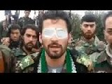 FSA Terrorists In Syria Runing Out Of People Recruit Blind Man