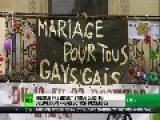 French President In Hot Water Over Gay Marriage Law & Taxing The Rich