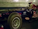 F1 Red Bull Racing Car In Lincoln Tunnel - Full Edit