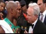 Floyd Mayweather Vs Larry Merchant!!