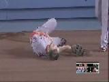 Fail Baseball Player Runs Full Speed Into Wall