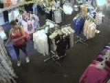 Fat Whores Shoplifting Caught On Tape