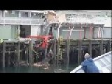 Ferry Boat Crash Into House!