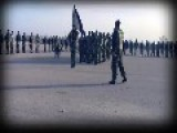 First Free Syrian Army Graduation Parade On The Anniversary Of The Syrian Revolution