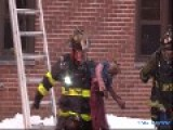 Firefighters Save Child From Burning Apartment!