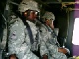 Flying Out Of FOB Falcon In Baghdad, Iraq In A Blackhawk Helicopter 2008