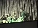Guy In A Wheelchair Hypnotized & Falls Off A Stage!