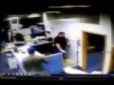 GUY FLIPS OUT AND DESTROYS OFFICE !