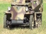 German Sd.Kfz 250 Demag Alte New Replica For WWII Re-enactment