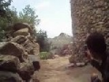 Green Berets AndAfghan Commandos Film 2000lbs GBU Drop On Sniper