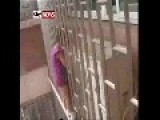 Girl In China Freed After Getting Head Stuck In Window Bars