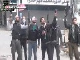 Gangs Of The Free Syrian Army Terrorizing And Shooting At Innocent Civilians In Alyarmouk Camp