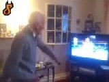 Grandpa Throwing Bombs On Wii