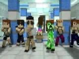 Ganganam Style PSY Minecraft Version Parody