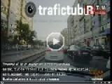 Girl Hit By Tram In Bucharest, Romania 25.8.2012
