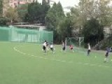 Ginger Thug Laying The Hammer In Hong Kong Under-12 Soccer!