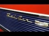 Great Lowrider Chevrolet Belair In A USA-car Meeting