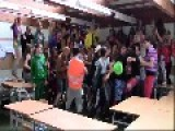 Guy In Green Gets Pulled Out By His Teacher Because He Doesn´t Know How To Dance The Harlem Shake Lol