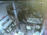 Guy Caught Stealing In Noodle Restaurant