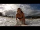 GoPro HD: Alana And Monyca Surfing Hawaii