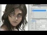 How To Draw An Elf Girl On The Tablet