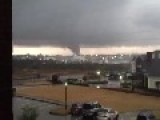 Hattiesburg Tornado - Raw Footage From Six Different Angles