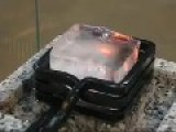 Heating Ice Cube