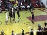 He's A Beast: One Handed High School Basketball Player!