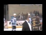 Hockey Coach Gets Ejected For A Joke
