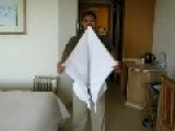 How To Make The Snake Towel