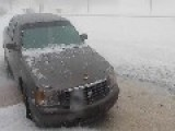 Hail Storm In Santa Rosa, New Mexico