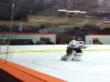 Hockey Goalie Allows Own Goal, Then Flips Bird To Teammates
