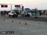 Hungarian 1000 HP Audi Start Drag Racing