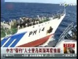 Hong Kong Boat Attacked By Japanese Coast Guard In Diaoyu Island