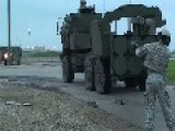HIMARS Firing At Fort Riley