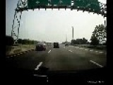 Highway Accident With Ejection