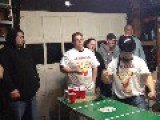 Harlem Shake At Beer Pong Party