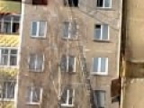Highrise Fire And Rescue In Minsk