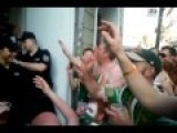 Irish Fans Sing Their Love To Hot Polish Police Woman