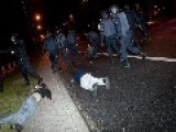 Injured Protestors Lay In The Streets Of #Madrid #29S