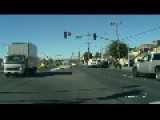 Idiot Changing Lanes - Close Call