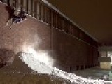 Insane Skiing On Rails