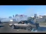 In Oakland Morons Shut Down A California Highway So They Can Do Burnouts
