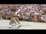 Indian Women BSF Soldiers For The First Time In Wagah Border Cremony Indo-Pak Border