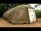 Inflatable Concrete Tent