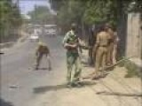 Indian Para Military Dealing With Troublesome People!