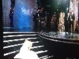 Jennifer Lawrence Falls At The Oscars - FAIL
