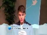 Justin Bieber Reads Funny Tweet