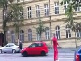 Jedi Street Fight In Czech Republic